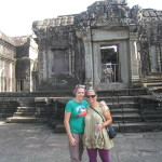 My Daughter and I visit Cambodia soon after my mother's death